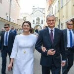 Lithuania's first Lady Diana Nausediene suspending her professional career
